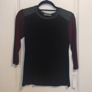 NWT Loveappella Top Size XS